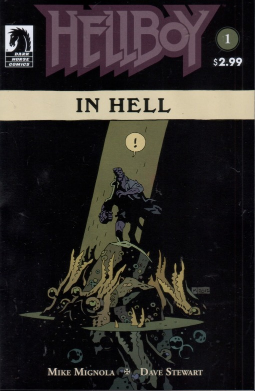 Mike Mignola's Hellboy In Hell issue one cover