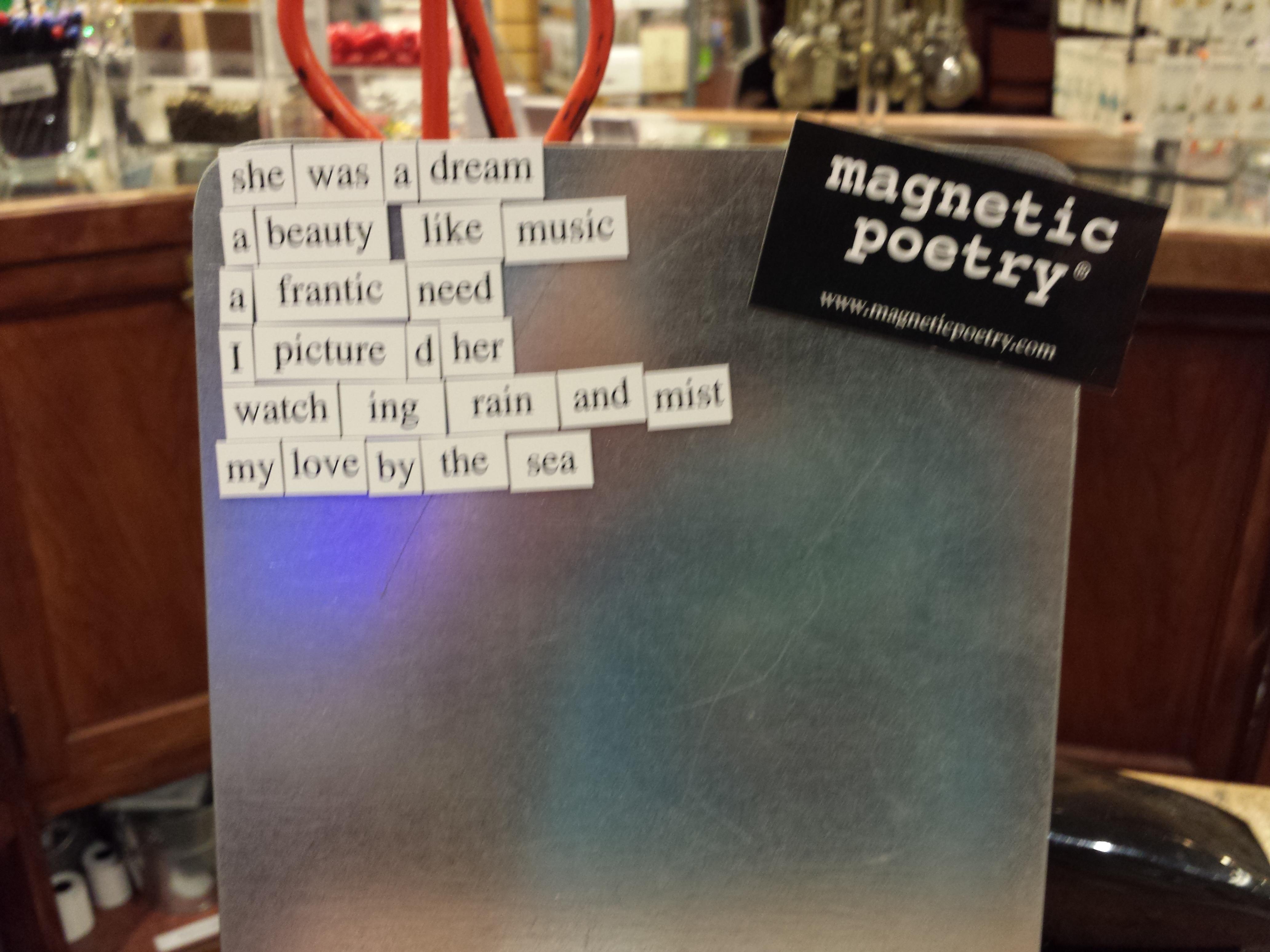 Magnet Poem 3